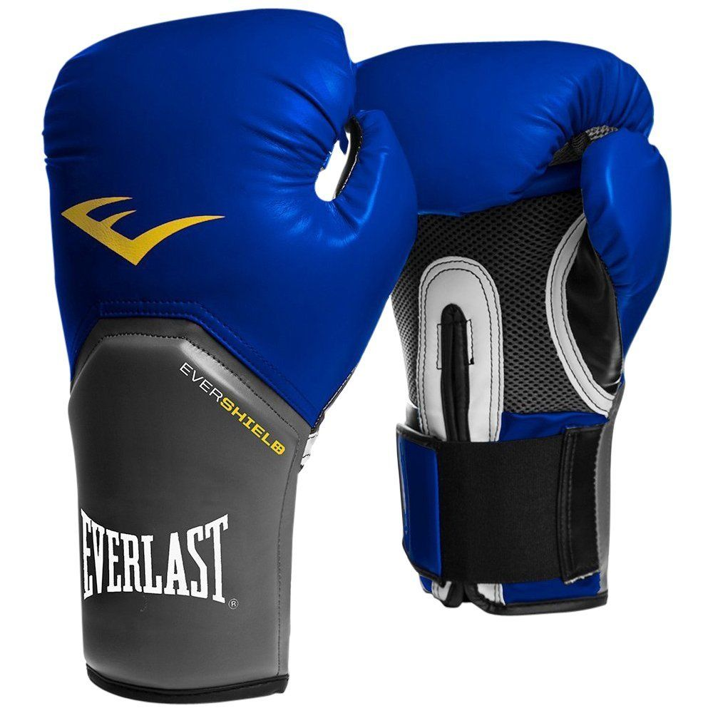 Comprar guantes boxeo Everlast pro style elite azules